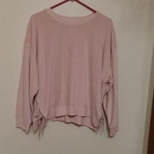 Ana blush pink top.